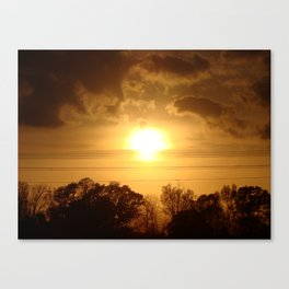 Easter Sunset '10 Canvas Print