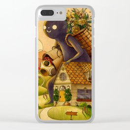 Heading Home Clear iPhone Case