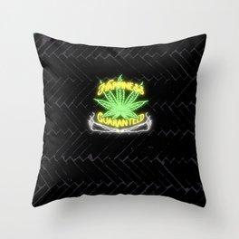 Happiness Guaranteed Throw Pillow