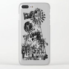 Post-Modern Industrial Complex:  The Art of Regressing Clear iPhone Case