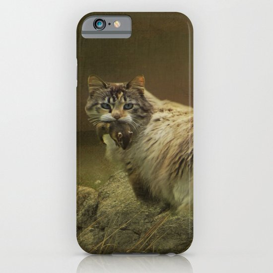 A Game of Cat and Mouse iPhone & iPod Case