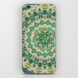 Luna Moth Meditation Mandala iPhone Skin