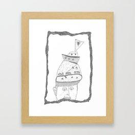 hat vardre Framed Art Print
