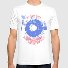 Mischievous donut Mens Fitted Tee SMALL White