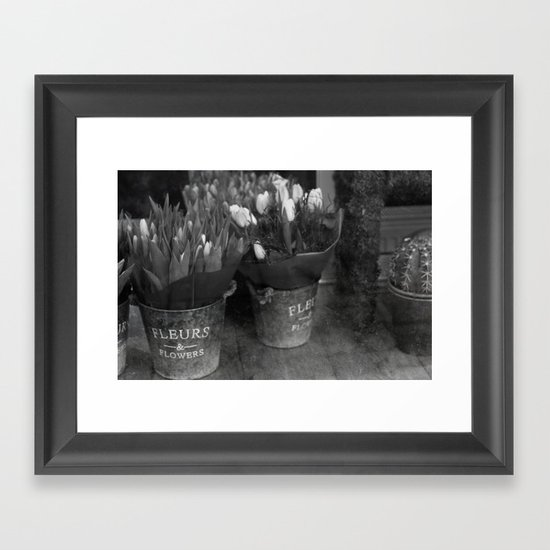 Fleurs & Flowers Framed Art Print