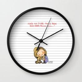 """Tra le righe"" Wall Clock"