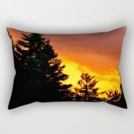 Sunset Pines Rectangular Pillow