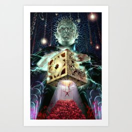 Pinhead and the Box Art Print