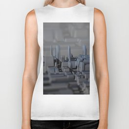 Urban technology buildings space aerial view Biker Tank