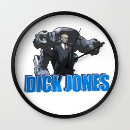 Dick Jones Wall Clock