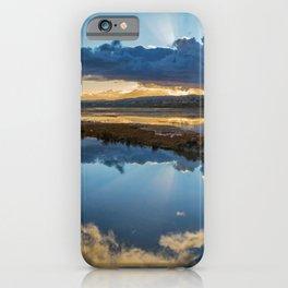 Back Bay Sunburst iPhone Case