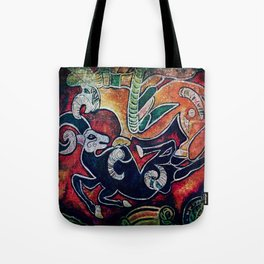 Scythian Designs Ibex & Griffin by Sheridon Rayment Tote Bag