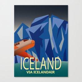 Iceland Air Canvas Print