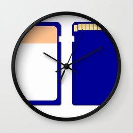 Memory Chip Wall Clock