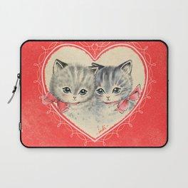 VALENTINE KITTIES Laptop Sleeve