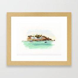 Naxos Framed Art Print