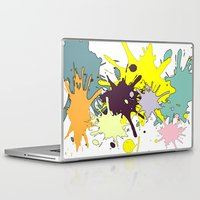 splatter Laptop & iPad Skins featuring Splatter by fauzita