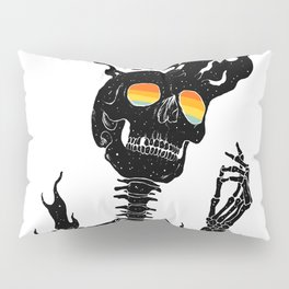 One with the Universe (Existential Diffusion) Pillow Sham