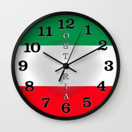 Italia Osteria Wall Clock