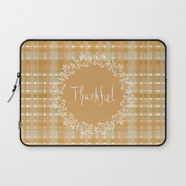 Autumn Weave Thankful Laptop Sleeve