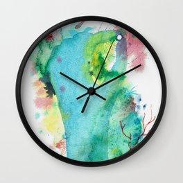 Holding Treasures Wall Clock