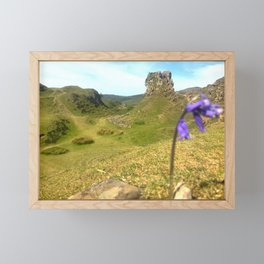 Atop the Fairy Hill, Scottish Highlands Framed Mini Art Print