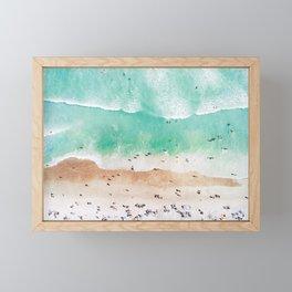 Beach Mood Framed Mini Art Print