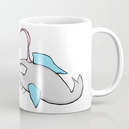Scribble2Masterpiece - LANTERN FISH in OCEAN! Coffee Mug