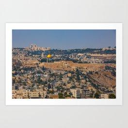 Jerusalem of Gold Art Print