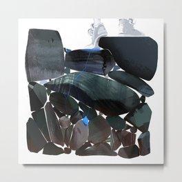 """Stress"" by Molly Mendoza for Nautilus Metal Print"