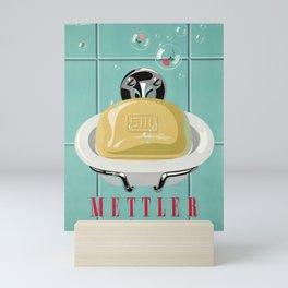 alt mettler savon bulle Mini Art Print