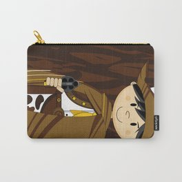 Cute Cowboy Wanted Poster Carry-All Pouch