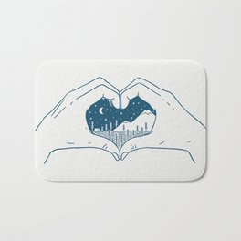 Love Nature Bath Mat