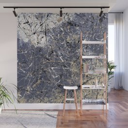 Orion - Jackson Pollock style abstract drip painting by Rasko Wall Mural