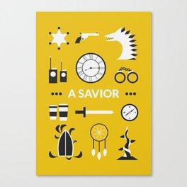 OUAT - A Savior Canvas Print
