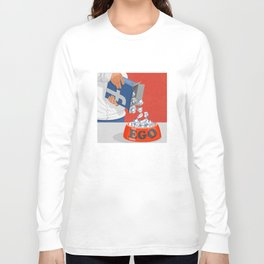 Give your ego some likes Long Sleeve T-shirt