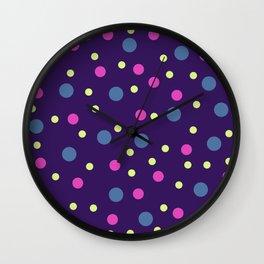 Classic Retro Dots 08 Wall Clock