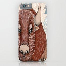 American Buffalo Bison Southwest Southwestern iPhone Case