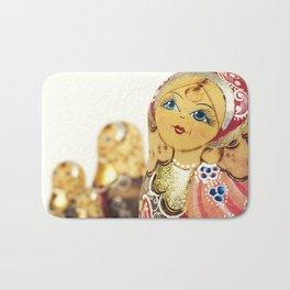 Babushka nesting dolls Bath Mat