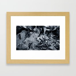 'SPRING STREAM' Framed Art Print