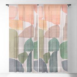 Stonehenge Sheer Curtain
