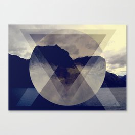 Hipster Hill Canvas Print