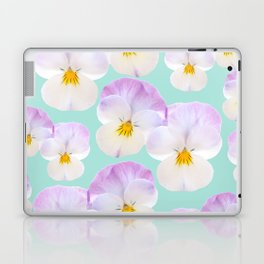 Pansies Dream #1 #floral #pattern #decor #art #society6 Laptop & iPad Skin