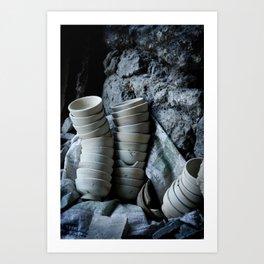 Travel: Morocco Pottery Art Print