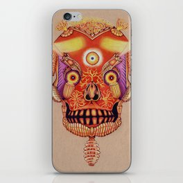 Holy Lumen Skull iPhone Skin