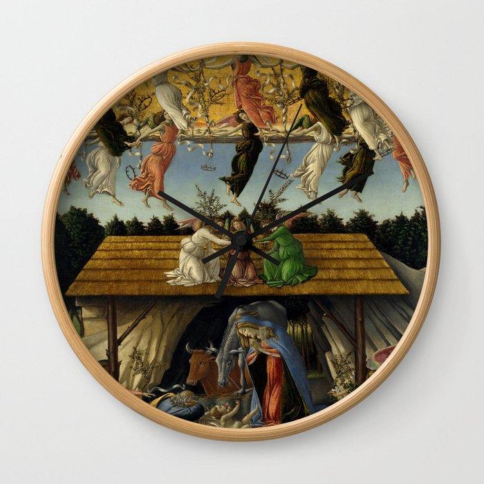 "Sandro Botticelli ""The Mystical Nativity"" Wall Clock"