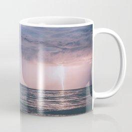 Lightning over the Strait of Georgia Coffee Mug