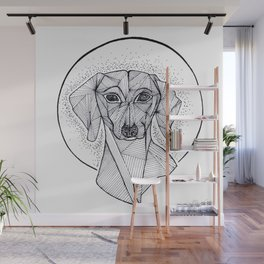 Jarvis the Dachshund Wall Mural