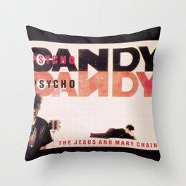 Jesus & Mary Chain - PsychoCandy Throw Pillow