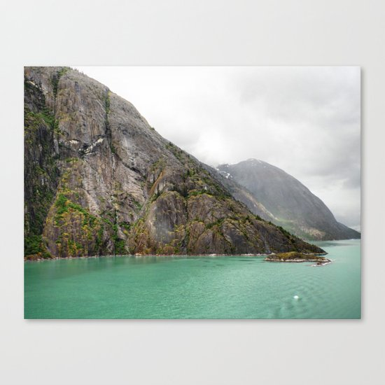 Endicott Arm Mountains Canvas Print